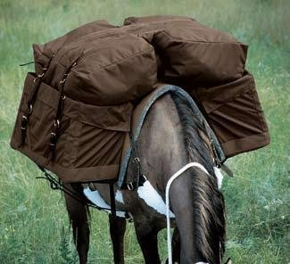 Weaver Nylon Adjustable Pack Pannier Bags by Weaver