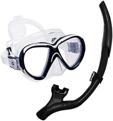 ダイビング マスク スキューバダイビング 軽器材 セット シュノーケル 2点セット AQUALUNG アクアラング 【revealX2-imp3nf】