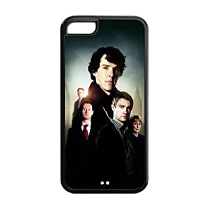 drop ship USA hot TV Sherlock cheap iphone 5c black Case 100% TPU Artistic unique distinctive Marvel Protective Design Cover 777phonecase hjbrhga1544