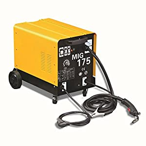 Wotefusi MIG Welder Automatic Fabrication Portable Flux Core Welding Machine Gas 110V by Wotefusi