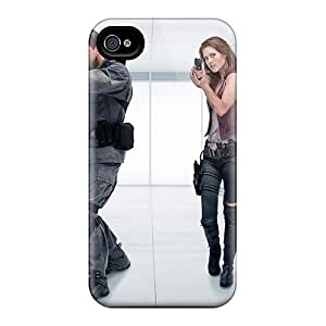 Premium IHPfj4083xnnON Case With Scratch-resistant/ Resident Evil Case Cover For Iphone 4/4s