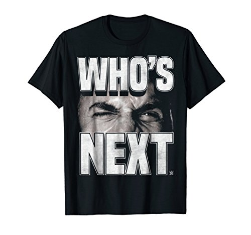 WWE Bill Goldberg Who's Next Graphic T-Shirt by WWE