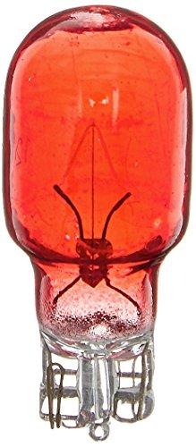 Moonrays 11691 4-Watt Wedge Base Light Bulbs , 4 Pack, Red - Base Red Bulb