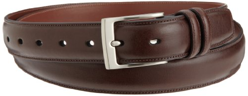 Perry Ellis Mens Hc Milled Big And Tall Belt, Chocolate, 46 SP (Perry Ellis Brown Belt)