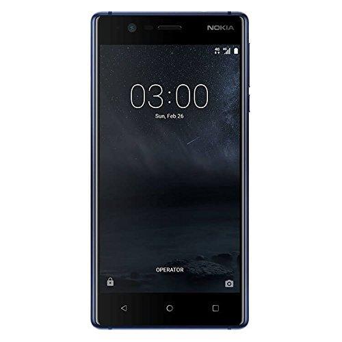 Nokia 3 TA-1032 4G LTE Dual sim 16GB Android 7.0 2GB Ram 8MP International Version No Warranty (Blue)