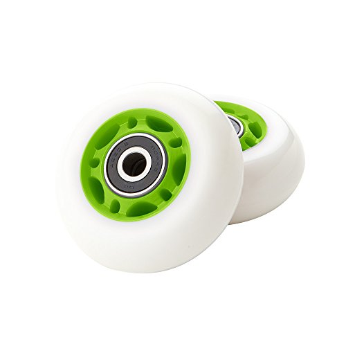Rib Wheel - Razor RipStik Caster Board Replacement Wheel Set - Green