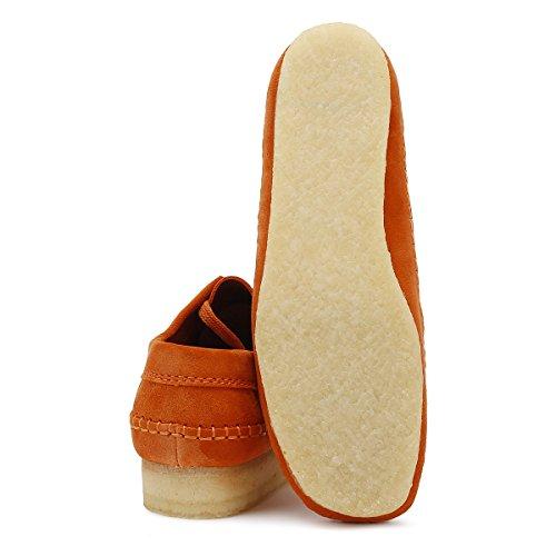 Clarks Originals Uomo Spice Arancione Weaver Scamosciato Scarpe Spice Orange Mejor Lugar De Venta En Línea Footlocker Salida 5c1rkSmJDV