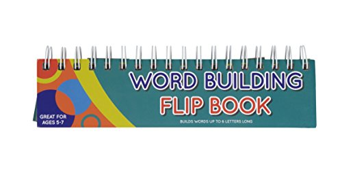 (Word Building Flip Book for Children - Word Builder Flash Cards, Spelling Activity for Learning the Alphabet and Building Vocabulary, 9.15 x 2.75 Inches)