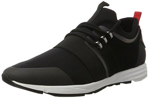 Hugo Boss Footwear Hugo Boss Men's Hybrid_Runn_Mxsx Black Trainers 9 UK/43 - Hugo Men Uk Boss