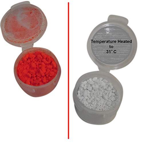 Orange Thermochromic Pigment 2g 31C-87.8F