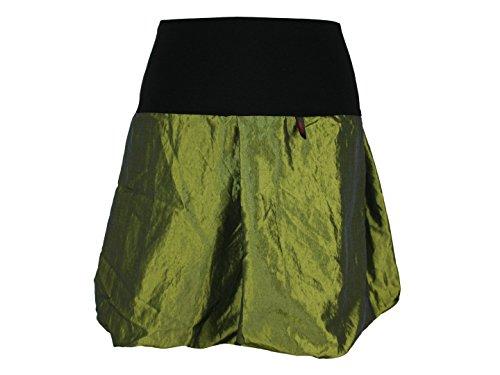 Mini Design Dunkle Noir Femme Hellgrün Jupe 45cm 40 Boule xOww0Cfqd