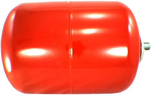 Duda Energy ExpTank-008V-S 8 L/2.1 gallon Red Expansion Tank for Solar Water Heater Systems Thermal Pressure Protection by Duda Energy (Image #1)
