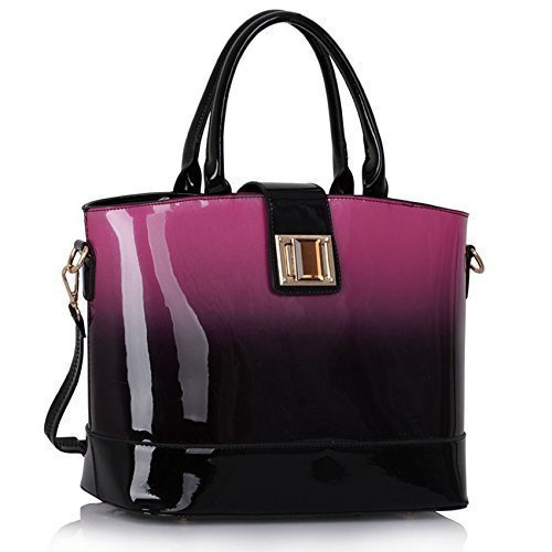 Ladies Handbags Patent Womens Large Bags Shoulder Celebrity Designer Leather