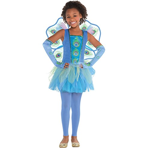 Amscan Princess Peacock Halloween Costume for Girls, Large, with Included Accessories for $<!--$26.24-->