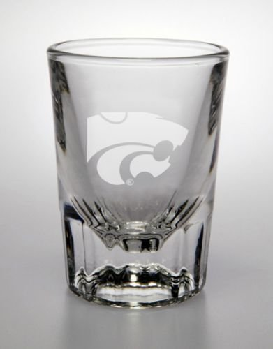 Kansas State Wildcats 2 Oz Deep Etched Classic Shot Glass ()