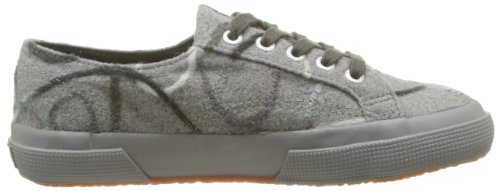 Superga 2750-FANTASYW 5 S006NB0 - Zapatos bajos para mujer Gris (916 Lt Grey DK grey)