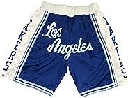 24# Kobe 23# James Basketball Sports Shorts for Men Women, Retro Fashion Cool Embroidery Shorts