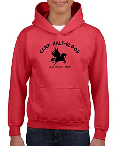 Artix Camp Half-Blood Cool Demigods Long Island Soundtrack Olympians Unisex Hoodie For Girls and Boys Youth Kids Sweatshirt Clothing Medium - Vegas Island Fashion Las