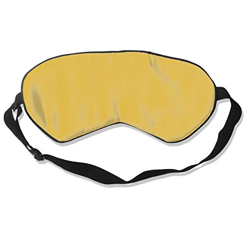 Artifact 4th Edition - GRFER Mustard Yellow - Christmas Limited Edition Best Sleep Mask Travel, Nap, Adjustable Belt Eye Mask for Men and Women