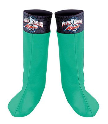 Green Ranger Boot Covers - Child -