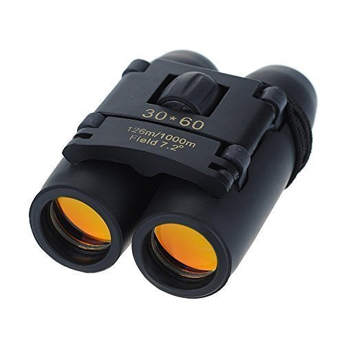 30 X 60 Telescopic Binocular Small & Compact Pocket Size With Night Vision Day Zoom Folding For Travel, Outdoor