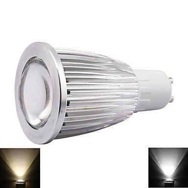 7 W GU10 500-550LM compatible con diseño de lunares en los bombillas Led regulables de pinchos para mazorcas de casquillo de bombilla, 220 V: Amazon.es: ...