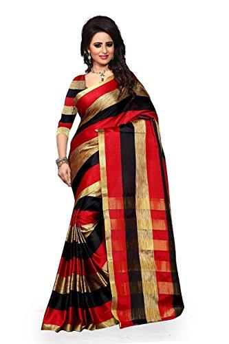 Ruchi Mart Bollywood Cotton Silk Saree Party Wear Indian Pakistani Wedding Designer Sari