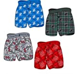 K&A Company Printed Knit Boys Boxer Boy Boxers Short - Sizes 4-18 Case Pack 72