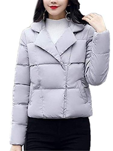 Transition Elegante Girl Clothing Warm Colori Gi�� Ladies Grau Manica Hx Comode Solidi Outdoor Taglie Winter Short Fashion Lunga Coat wqTaZ