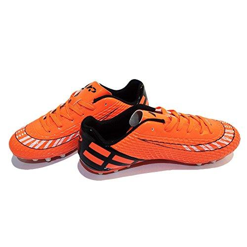YING LAN Männer Jungen Turf Stollen Fußball Athletisch Fußball Outdoor / Indoor Sportschuhe AG 26003 Orange