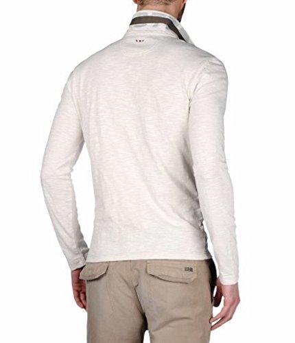 NAPAPIJRI ENESY Tapioca Langarm-Poloshirt N0YF3LN84