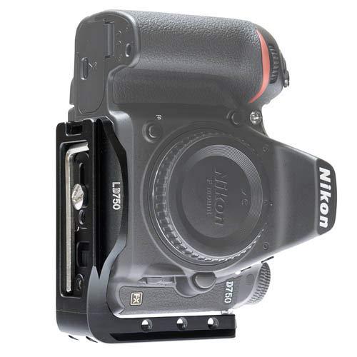 Stabil LD750 - L Plates (Bracket) for Nikon D750 : Black