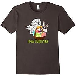 Happy Easter Maltese Dog Lovers Egg Hunting Cute T-Shirt