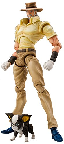 Medicos JoJo's Bizarre Adventure: Part 3--Stardust Crusaders: Joseph Joestar & Iggy Super Action Statue (Released) (Action Statue)