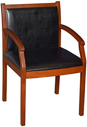 Regency Regent Vinyl Guest Chair, Cherry