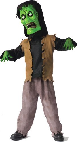 Bobble Head Monster Costumes - Bobble Head Monster Child Costume - Large