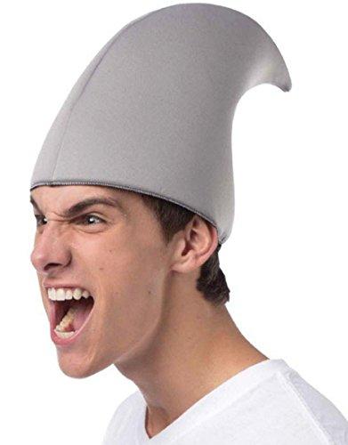 Rasta Imposta Men's Sharknado-Shark Fin Hat, Gray, One Size (Sharknado Fin)