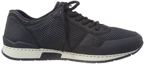 Rieker Mens-lacets Blau 641356-5 Lac / Atlantis / Marine / Denim