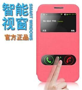 Deal4U Original JBan PU Flip Cover Case For Samsung G3588V Leather Case For Samsung G3589W Gift Screen Protector #-# Color#=Gold