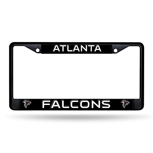(Rico Atlanta Falcons Black Metal License Plate Frame)