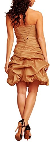 MY EVENING DRESS - Vestido - globo - Básico - Sin mangas - para mujer Marrón marrón 34