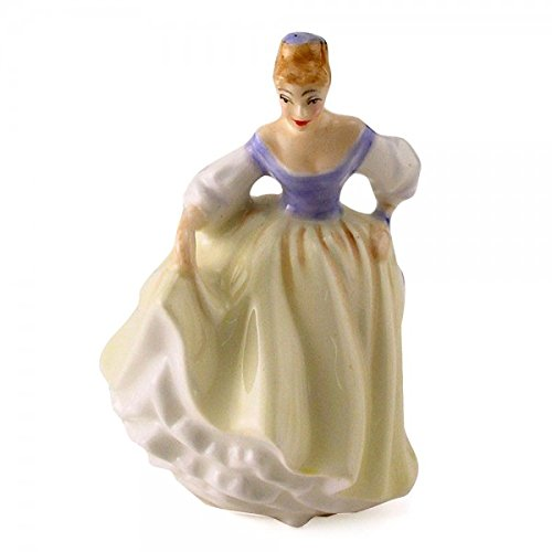 - Royal Doulton Figurine Fair Lady HN3216 Miniature - Made and Handpainted UK