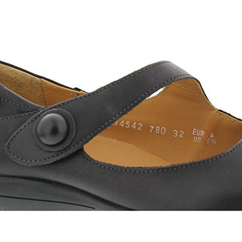 Mephisto - Zapatos de cordones de cuero para mujer