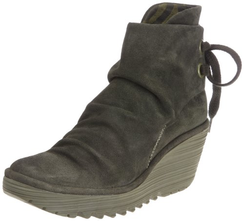 London Boot Sludge Ankle Women's Suede Yama FLY dAwIqzfd