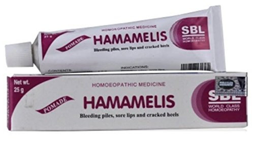 5 pack of SBL Pomade Hamamelis Ointment ()
