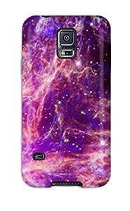 Premium Tpu Hd Space Cover Skin For Galaxy S5