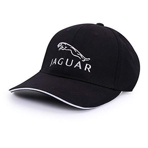 Car Logo Adjustable Baseball Hat, Unisex Hat Travel Cap Car Racing Motor Cap (for Jaguar)