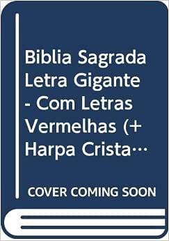 Bíblia Sagrada Letra Gigante - Com Letras Vermelhas (+ Harpa Cristã)