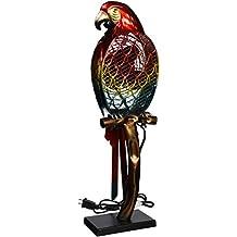 DecoBreeze DBF0788 Parrot Figurine Fan, Small
