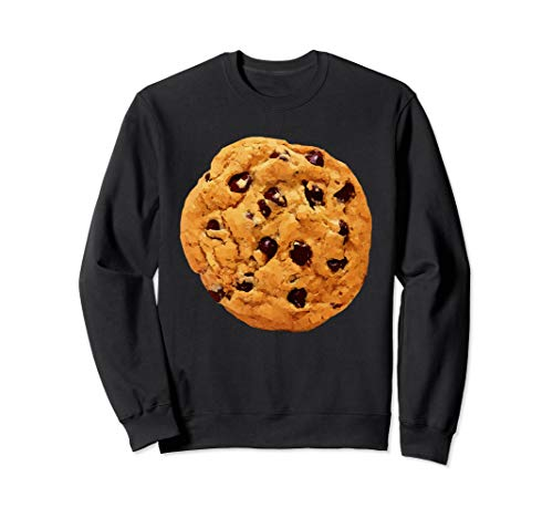 Funny Last Min Halloween Costume Cookie Sweatshirt Big Top ()